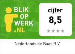 blik op werk nederlands de baas